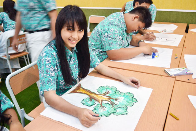 Image result for high school in jakarta