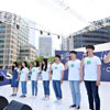 For the World Environment Day, 'Seoul City Hall Square large..